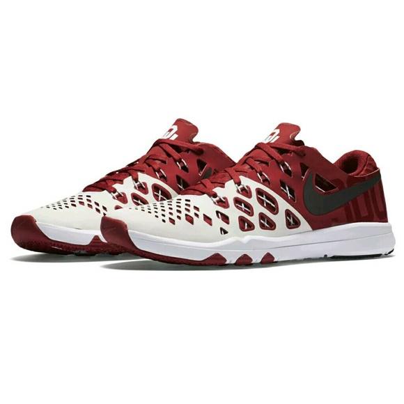 Nike Oklahoma Sooners Speed 4 Training Shoes Sz 14 b4ff761a0